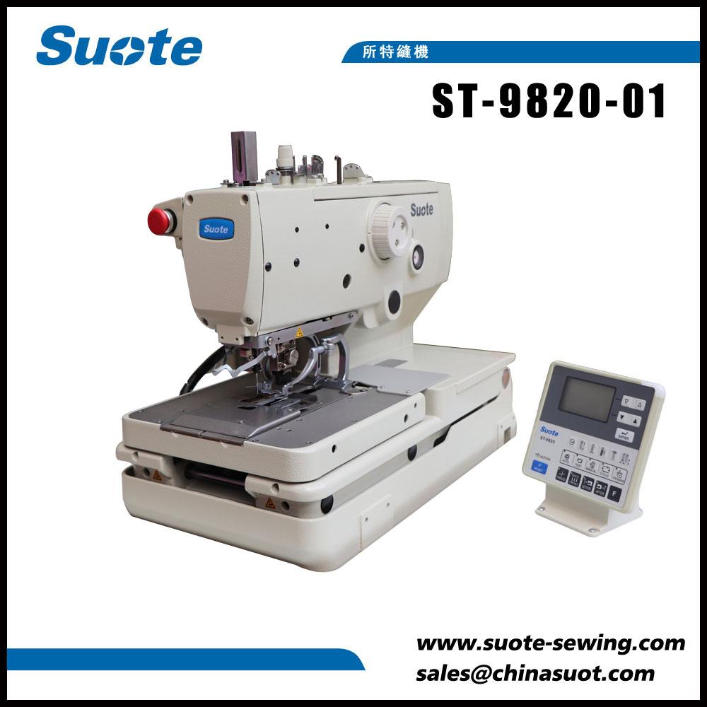 Máquina de coser ojeteadora electrónica del botón del ojeteador