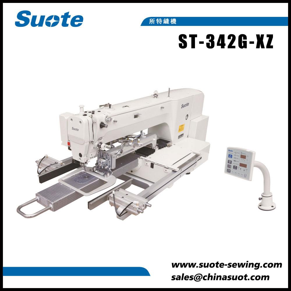Máquina de coser de patrón de boca pequeña