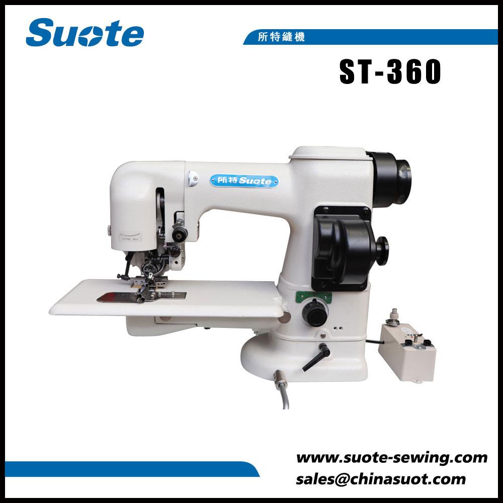 Máquina de coser de puntadas de doble cara lateral