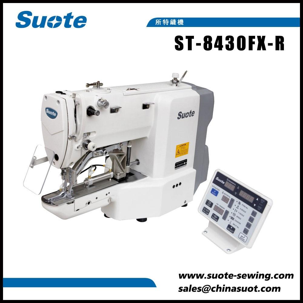 Máquina de coser empalmadora elástica electrónica